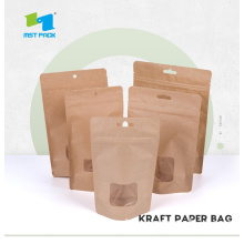 Resealable Stand Up Bags com Windows