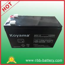 Batería de plomo AGM de 12V 9ah para UPS, protector de sobretensiones, vespa