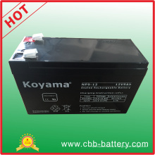 Batterie au plomb d'acide de plomb de 12V 9ah pour UPS, protecteur de montée subite, scooter