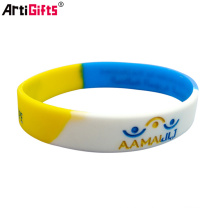 Silicone Bracelet Usine De Mode En Gros Pas Cher Bracelet Personnalisé Pour Les Femmes