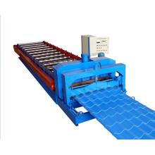 Máquina formadora de rolos para telhas de telha esmaltada de 840 mm