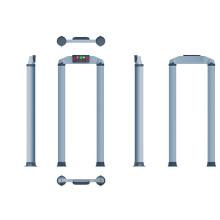 Detectores de metais de zona única