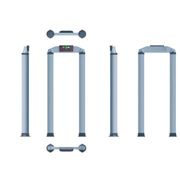 Однозонные проходные металлодетекторы