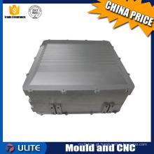 Caixa de alumínio caixa de caixa de alta precisão CNC usinagem de processamento de chapa metálica
