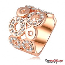 Swa Element Round Ring Fashion Jewelry (Ri-HQ0061)