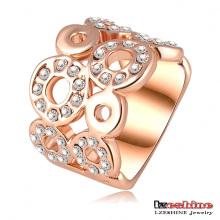Swa elemento rodada jóias de moda anel (ri-hq0061)