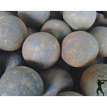 Rolling forged steel balls