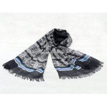 Bufanda de la raya del algodón de las mujeres 100 de la manera
