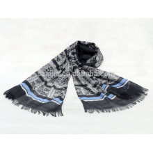 Fashion women 100 cotton stripe scarf