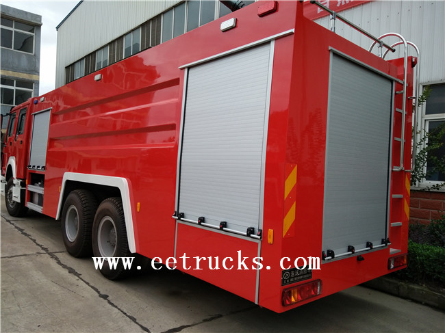 16 Ton Dry Powder Fire Trucks