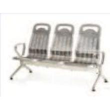 Krankenhaus Edelstahl Wartestuhl mit 3 Sitzplätzen