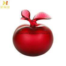 Perfume Glass Bottle with Woman Apple Perfume