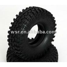 Personalizada do RC de borracha de pneus e rodas de borracha