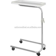 Höhenverstellbare Krankenhauspatienten Ess-Tische