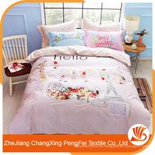 Китай поставщик оптовая дополнительную ширину ткани для постельных принадлежностей лист