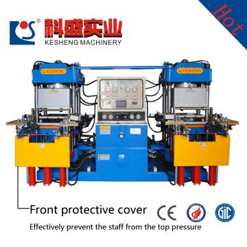 Production professionnelle de machine de moulage de pression d'huile de moule ouverte du vide supérieur 3rt des clés de silicone