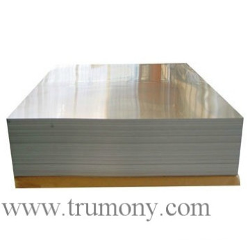 Heat Exchanger Aluminum Heat Transfer Plates Brazing Polished Aluminium Sheet