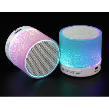 Orador portátil sem fio de Bluetooth do diodo emissor de luz do artigo relativo à promoção