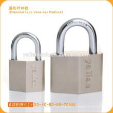 Tipo de diamante Vane chave padlock