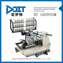 DT 1025PSSM hemming and quilting muti-needle industrial sewing machine with shirring