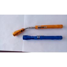 3 LED telescópica herramienta de la linterna de la recolección con la antorcha telescópica del imán