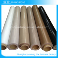Factory sale various widely used Heat Resistant Brown Color PTFE Fabric