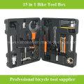 Más barato 15 en 1 Bicicleta Bicicleta Repair Tool Box