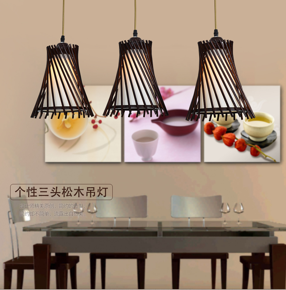 Wood Pendant Lamp For Home