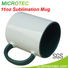 11oz Sublimation Two Tone Inner and Handle Color Cup (MT-B002H)