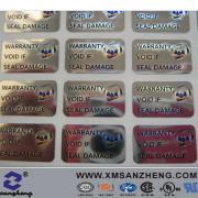 Customized Anti-Fake Adhesive Sticker (SZ14086)