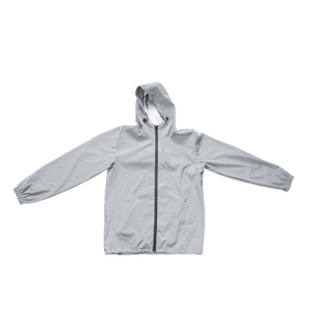 Full Reflective Rainproof Jacket With Multi Size