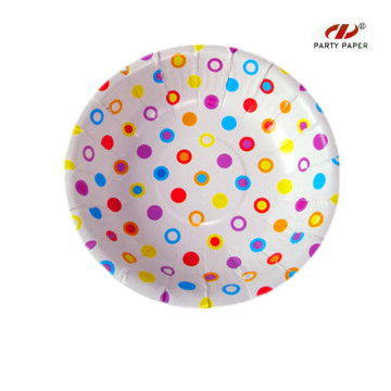 Disposable Round Paper Bowl For Food