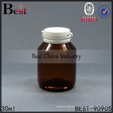 27mm Kunststoff Medizinflasche kindersichere Kappen