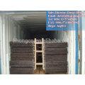 Piso de grades de aço galvanizado, grade de piso de aço galvanizado, grade de aço serrilhado galvanizado