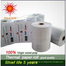 Rollos de papel impresos de cajero automático hasta rollos de recibo impresos directos