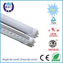 DLC cUL TUV Mark high lumen 110lm/w 22W lm79 tube light led