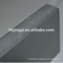 50mm thickness pvc sheets gray rigid