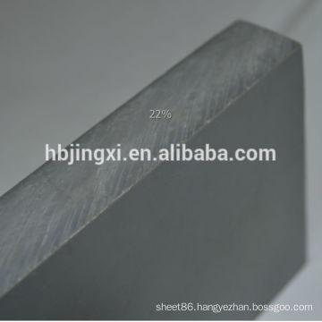 50mm thickness pvc sheets gray rigid