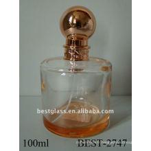 Bouteille de parfum de pulvérisation cylindrique 100ml