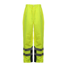 Reflective Strip Waterproof 300d Oxford High Visibility Safety Pants