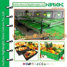 Металлическая стойка для овощей и фруктов