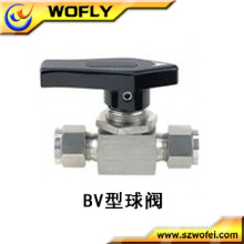 high quality 200bar pressure stainless steel mini manual ball valve for gas