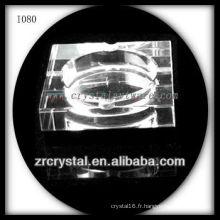 Cendrier classique en cristal K9 pour cigare