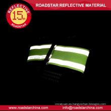 Brazalete reflectante elástico con gancho ajustable y lazo, brazalete reflectante seguridad elección de calidad
