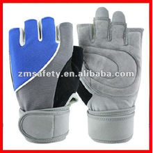 Fashionable weight lifting gym glove
