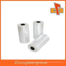 Película de empaquetado transparente de la fábrica de China para la máquina packaing