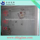 3 4 5 6mm Clear Colored tempered Figured Pattern Glass (Ocean, Diamond, Flora, Karatachi, Millennium, Mistlite, Nashiji