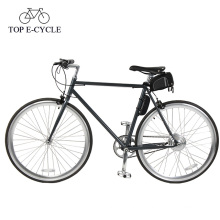 Livelytrip New Design Of Fixed E bike 250W Electric Bike Single Speed Bike 700C*25C E Bicycle Electric Bicycle