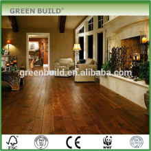 Dark Brown 8mm Laminate Oak Wooden Flooring
