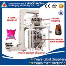 Multi head weighing 99% accuracy vertical 1kg rice packing machine with 10 heads weighing wrapping machines